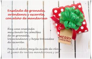 Recetas Fértiles, regalos con buenos deseos.