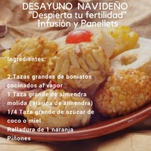 Desayunos Fértiles (Recetas Navideñas)