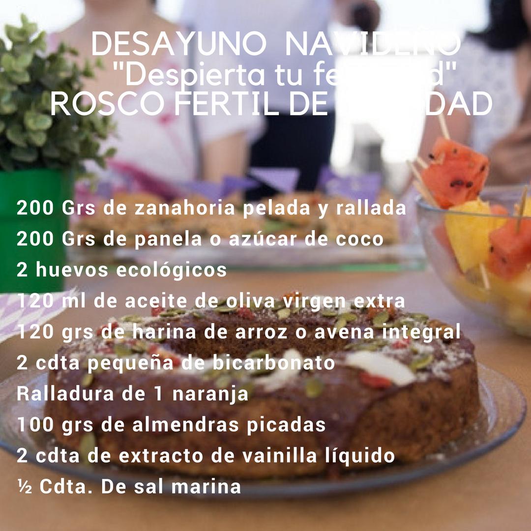 Desayunos Fértiles (Receta para Día de Reyes)