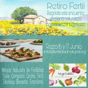 Retiro Fértil (Encuentro Fertilidad Natural) 16 y 17 junio de 2018